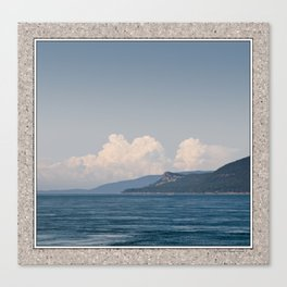 EAGLE CLIFF ON CYPRESS ISLAND FROM ROSARIO STRAIT Canvas Print
