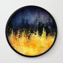 My burning desire Wall Clock