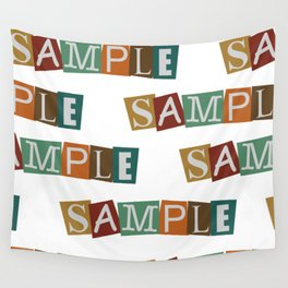 Sample In Color Wall Tapestry