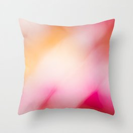 Pink Colours Throw Pillow