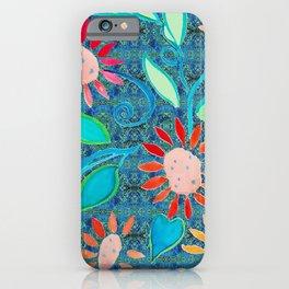 zakiaz ocean of flowers iPhone Case