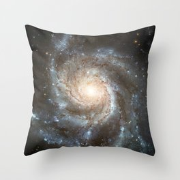 Spiral galaxy Throw Pillow