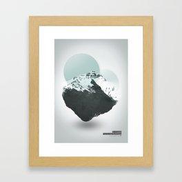 Mt. Everest - The Surreal North Face Framed Art Print