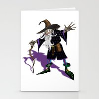 wizard Stationery Cards featuring Wizard by Noughton