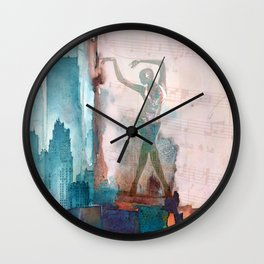 The song of city Wall Clock