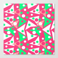 Hot Pinkness Canvas Print