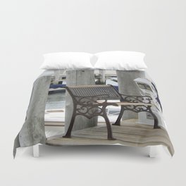 Take A Seat Duvet Cover