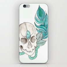 Skull Feather iPhone & iPod Skin
