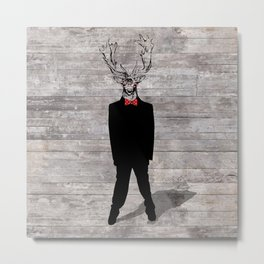 ADesign Dear Deer Metal Print