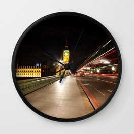 Lights of London Wall Clock