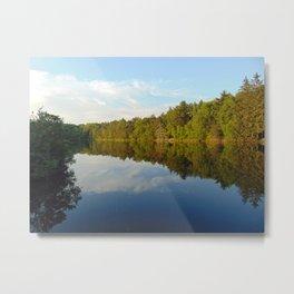 Hidden Pond Metal Print