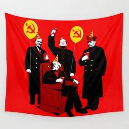 Communist Party II: The Communing Wall Tapestry