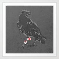 You've Got a Raven Art Print