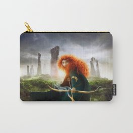 MERIDA THE BRAVE - PORTRAIT MERIDA WITH ARROW Carry-All Pouch