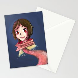 Glowing Ghosts Stationery Cards