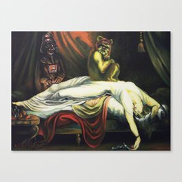The Night Invader Canvas Print