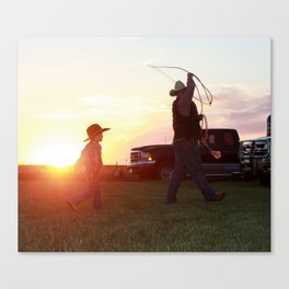 Quality Time Canvas Print
