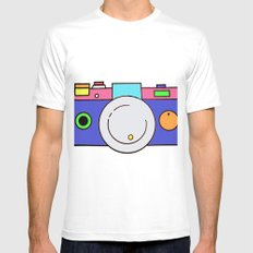 Snap Mens Fitted Tee White MEDIUM