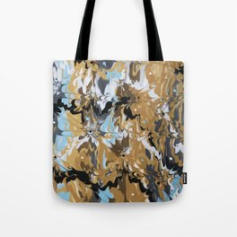 Golden Calypso Tote Bag
