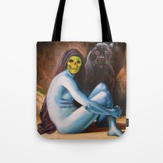 Seated Sorcerer Tote Bag