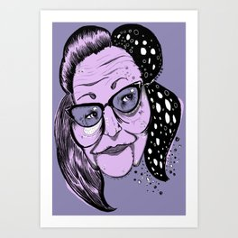 Big Edie Art Print