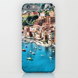 Côte d'Azur - French Riviera, France ocean landscape iPhone Case