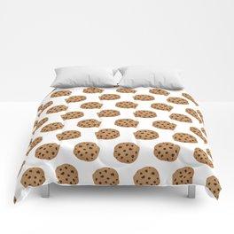 Chocolate Chip Cookies Pattern Comforters