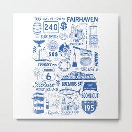 Fairhaven Massachusetts Print Metal Print