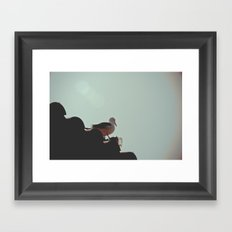 Lookout Framed Art Print