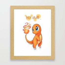 Hot Stuff! Framed Art Print