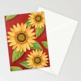 Sunflower Surprise Stationery Cards