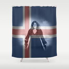 ESC Iceland 2010 Shower Curtain