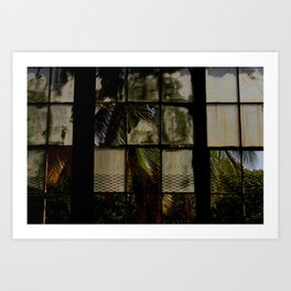 Opening windows Art Print