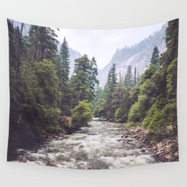 Rivers Lead the Way Wall Tapestry