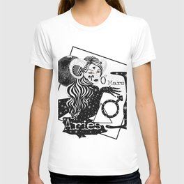 Aries - Zodiac Sign T-shirt