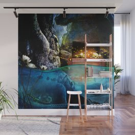 Treasure Cave Wall Mural