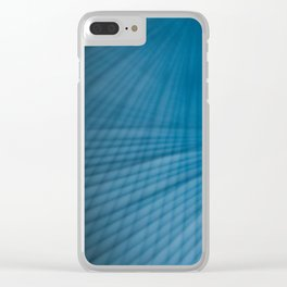 Drawing Lines Clear iPhone Case