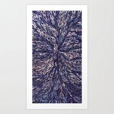 Blue Dreamcatcher Art Print