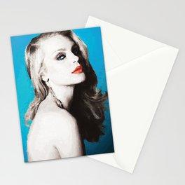 Blue Beauty Stationery Cards