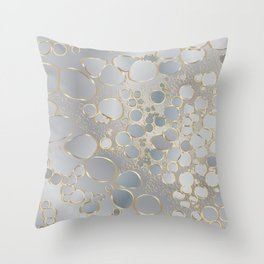 Abstract digital work Throw Pillow