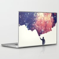 galaxy Laptop & iPad Skins featuring Painting the universe by badbugs_art
