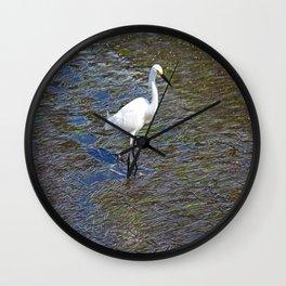 Provocative Pretender - horizontal Wall Clock