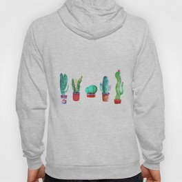 5 little cactus Hoody