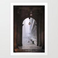 portal Art Prints featuring Portal by stephmel