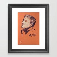 Jeremy Renner Framed Art Print