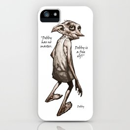Dobby is a free elf iPhone Case