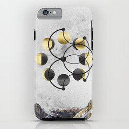 Moon Cycle iPhone Case