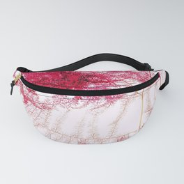 Asparagus Fern Abstract Fanny Pack