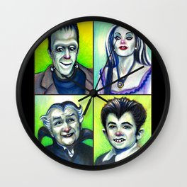 Munster Family Wall Clock