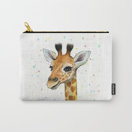 Baby Giraffe Carry-All Pouch